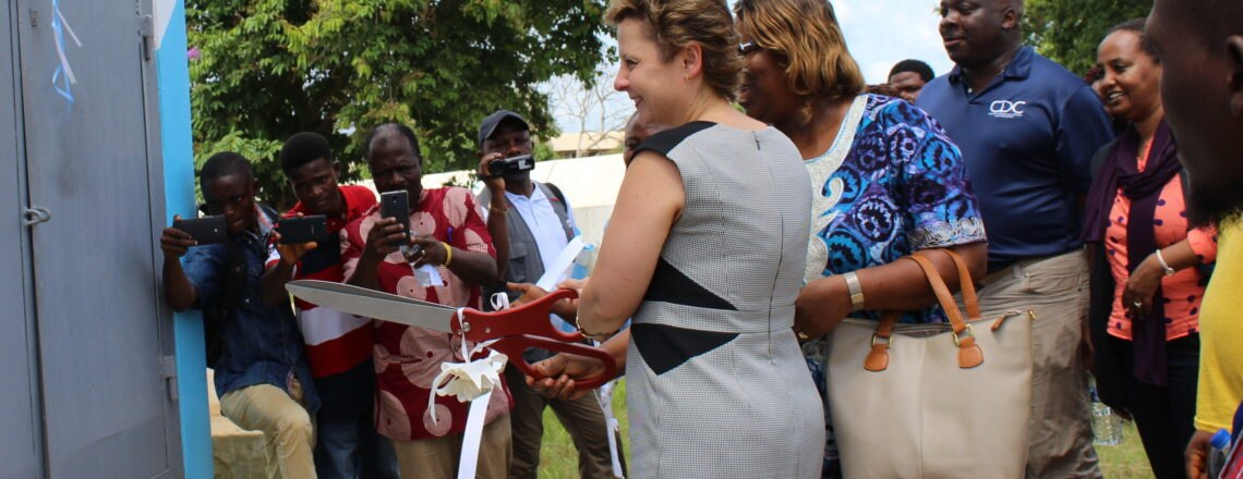 Ambassador Dedicates WASH Projects