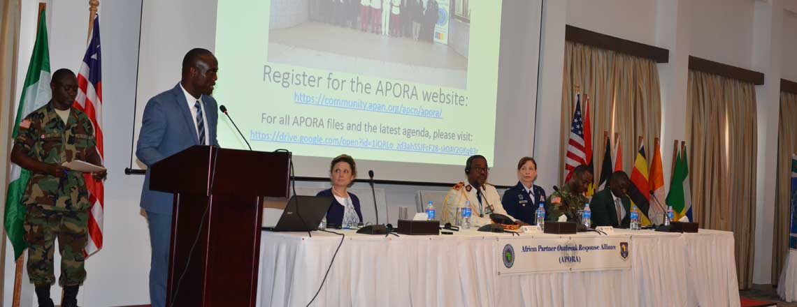 Liberia hosts 6th APORA Key Leader Meeting in partnership with U.S. Africa Command